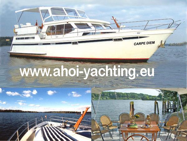 Yachtcharter in Berlin - Event Yacht Törn Berlin