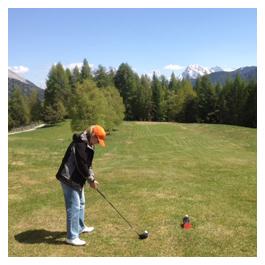 Golf in Tirol - Platzreifekurs Golf in Seefeld