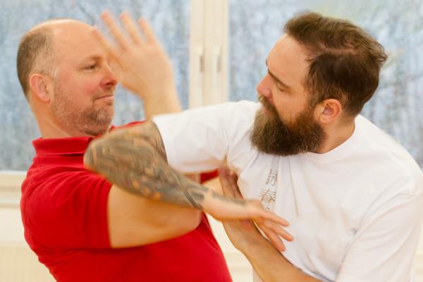 Probemonat in der Kampfkunst-Akademie Stefan Claus in München