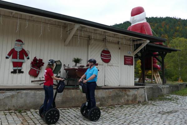 Segway- und Bergbahn-Tour Thüringer Wald  - Mellenbach-Glasbach