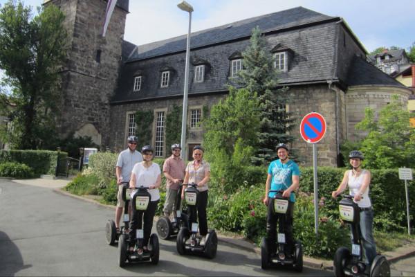 Segway-Tour Thüringer Wald - Kurstadt Bad Blankenburg - Bad Blankenburg