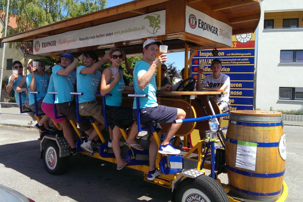 Big BierBike in Erding für 8 bis 16 Personen - Erding