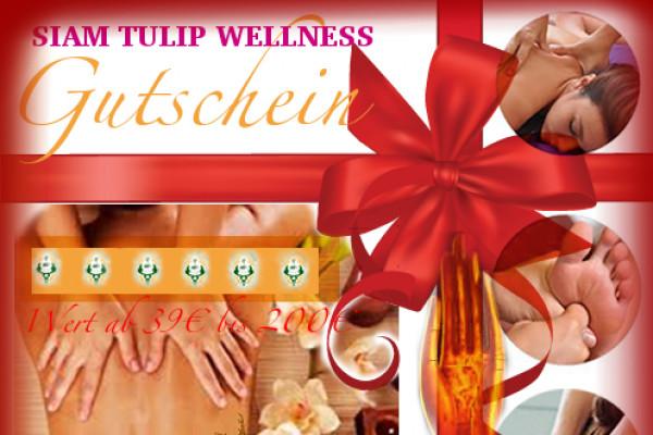 Siam Tulip Öl-Massage - 35€ Happy Hour von 10-14 Uhr in Stuttgart