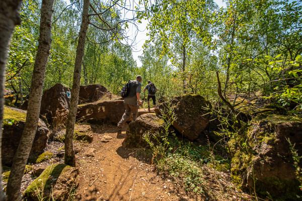 Gruppenticket: Geführte Wanderungen durch Naturschutzgebiete