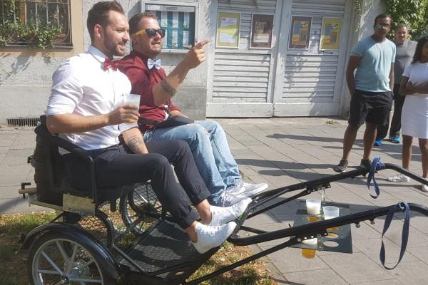 Sulky-Bier-Tour (4 bis ca. 30 Personen)