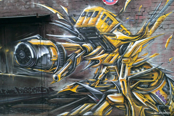 Reclaim the City – Vol.2 - Streetart in Kreuzberg - Berlin