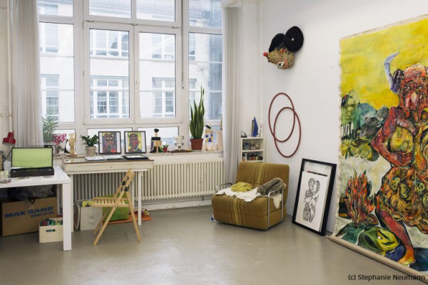 Studio Visits emerging artists - Atelierbesuche - Berlin