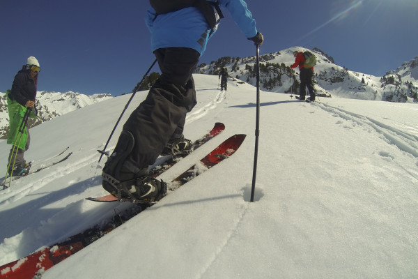 Jour-J Initiation Splitboard/Ski de rando