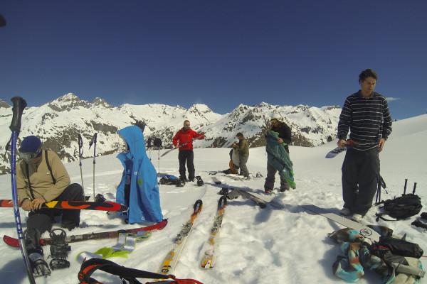 Les joies de la transition au sommet de la montagne!