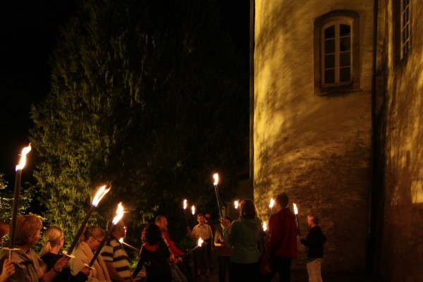 City Sightseeing by Night - Guided Torchlight Tour Wiltz