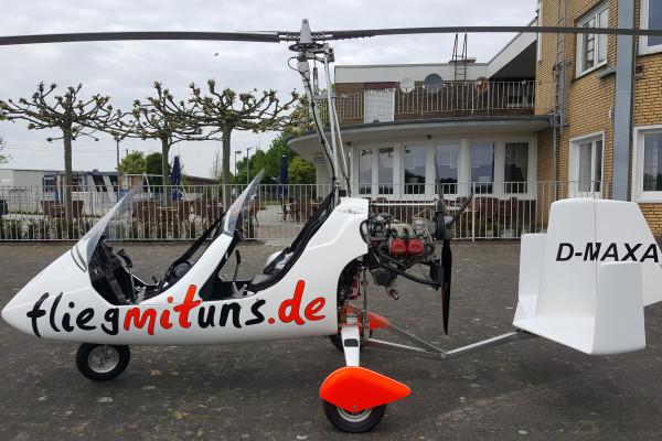 Ab 49€ Gyrocopter Rundflug Flugplatz Stadtlohn Vreden