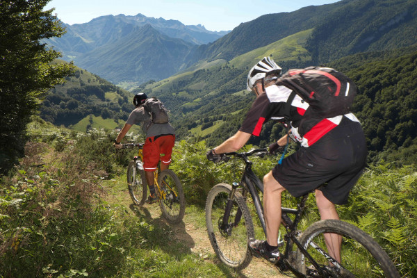 De grands moments de ride en vallée d'Aspe