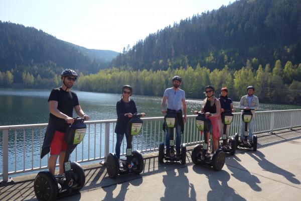 Segway-Tour im Thüringer Wald - Talsperre Leibis-Lichte - Meura