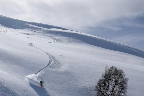 Dans secrets spots...freeride ski snowboard
