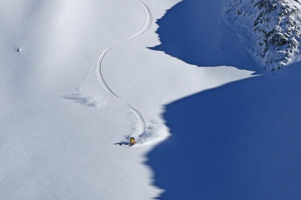 pow neige snowboard
