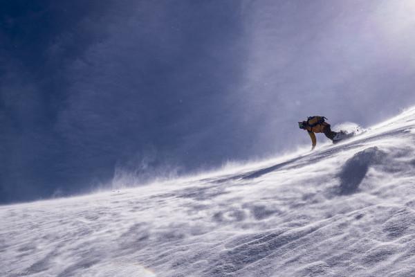 snowboard et ski freeride dans les pyrénées