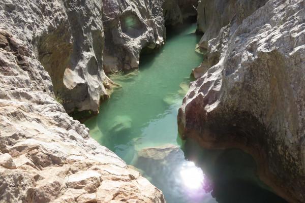Voilà un canyon espagnol