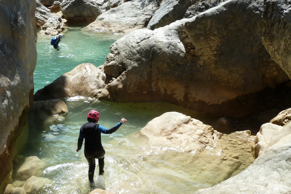 Week-End Canyoning en Sierra de Guara