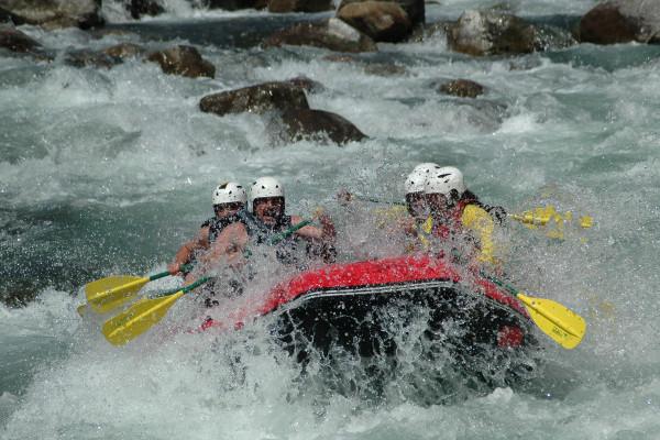 Rafting et fun en famille avec Pyrénéance
