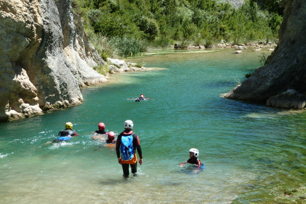 Vacances multi-sport en famille dans les canyons espagnols