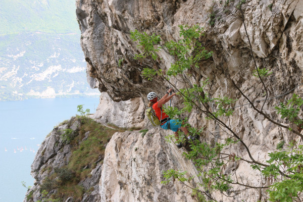 Klettersteig Sentiero Contrabbandieri - Arco