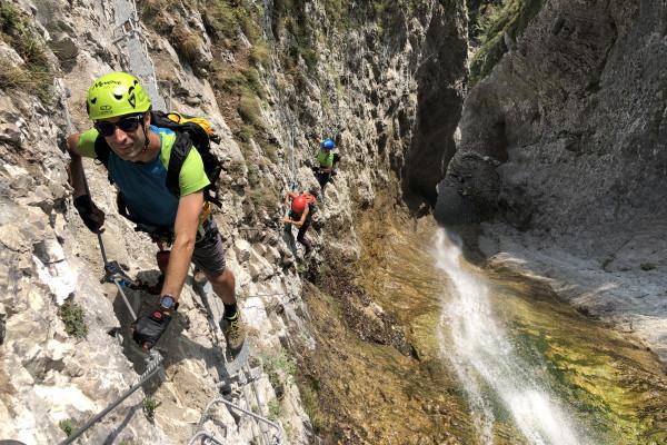 Klettersteig Rio Ruzza