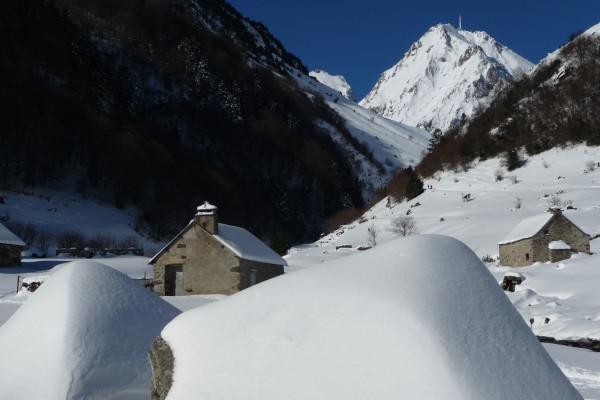 Demi Jour-J Raquettes à Neige en Haute Vallée de l'Adour