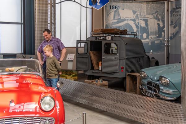 Eintrittsticket: Konservatorium historischer Fahrzeuge