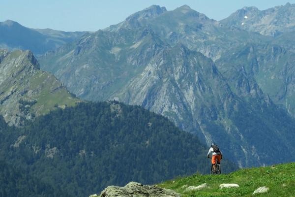 VTT enduro montagne Pyrénées