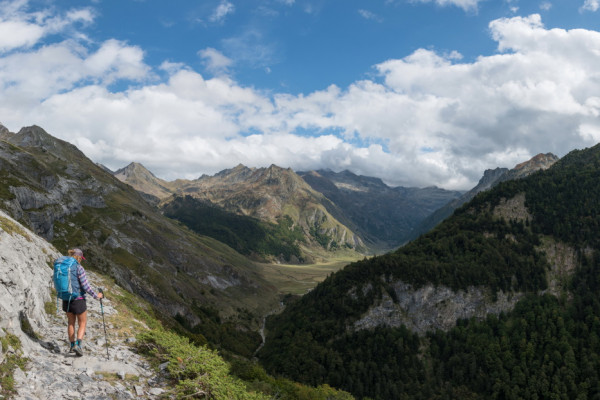 Des points de vue splendides sur les Pyrénées françaises et espagnoles