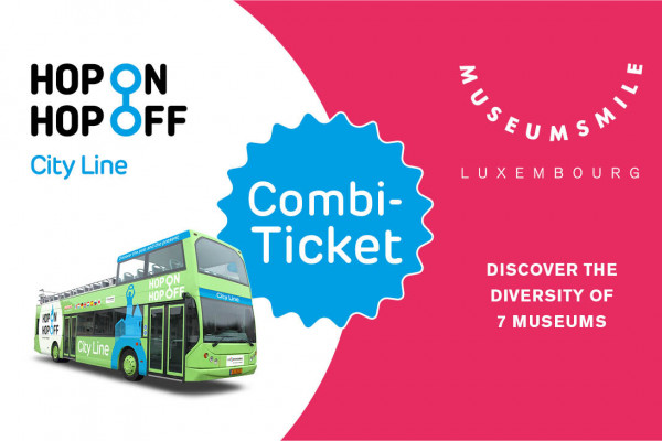 Hop On Hop Off City Line + Museum Pass Ticket Combi