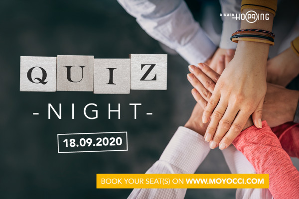 Soirée Quiz by Dinner Hopping 18.09.2020