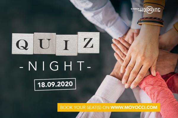 Quiz Night by Dinner Hopping 18.09.2020