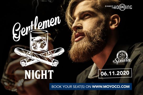 Gentlemen Night - Cigars & Spirits 06.11.2020