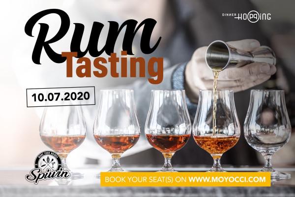 Dinner Hopping - Rum Tasting 10.07.2020