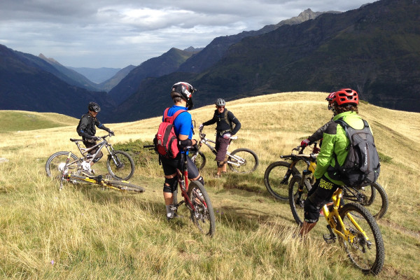 VTT enduro entre la Bigorre et la vallée d'Aspe