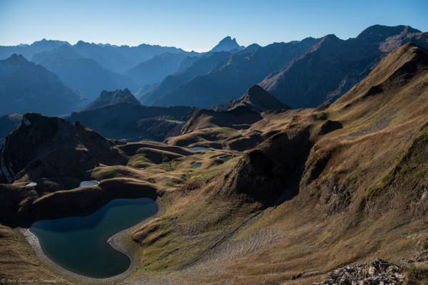 Randonnée au lac du montagnon d'iseye