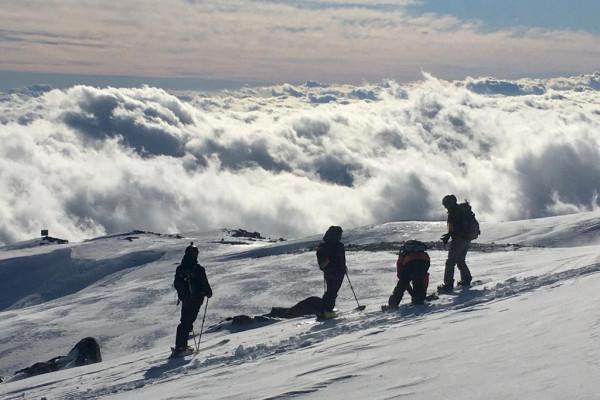 ski freeride et splitboard au chili (crédit Claudio Vicuna)