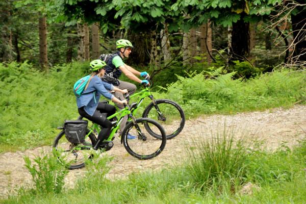 E-Bike Lago degli Idoli with a private guide