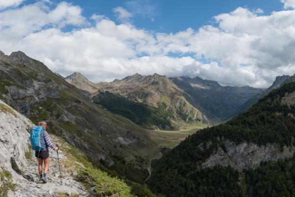 Randonnée bivouac en Vallée d'Aspe sur le sentier