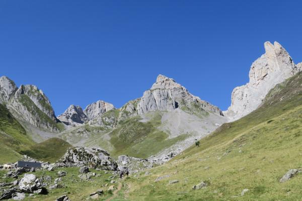 Randonnée bivouac en Vallée d'Aspe Aiguilles d'Ansabère