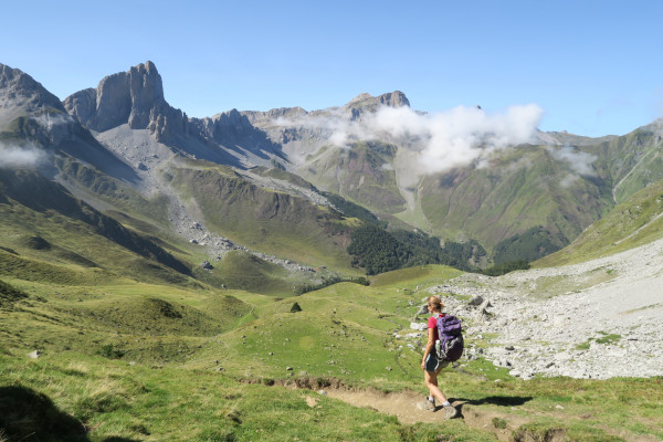 Randonnée bivouac en Vallée d'Aspe vers la cabane