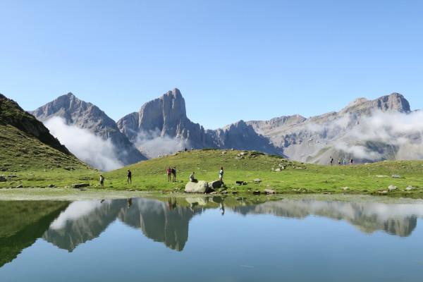 Randonnée bivouac en Vallée d'Aspe Lac d'Ansabère