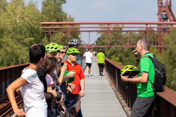 Glück-auf Radtour rund um Zollverein
