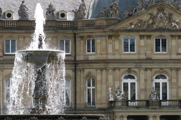 Fotokurs in Stuttgart: Altstadt und Neüs Schloss