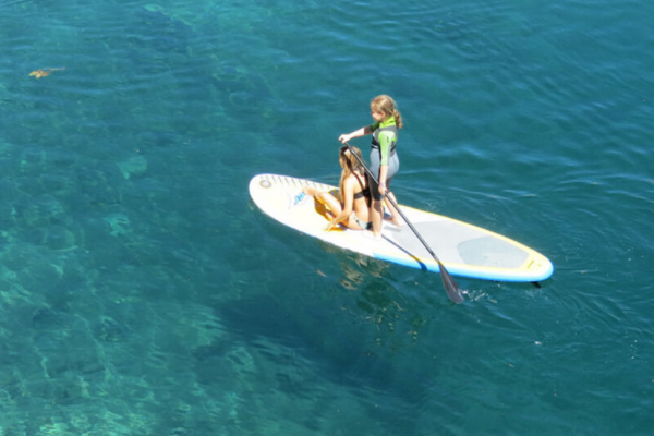Demi Jour-J Stand up paddle au Cap du Figuier