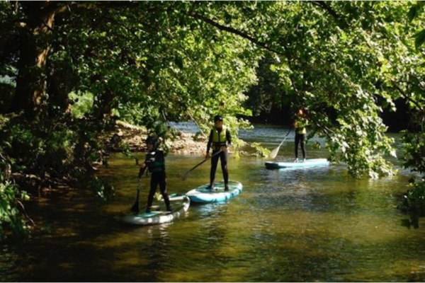 Demi Jour-J Stand up paddle sur la Bidassoa