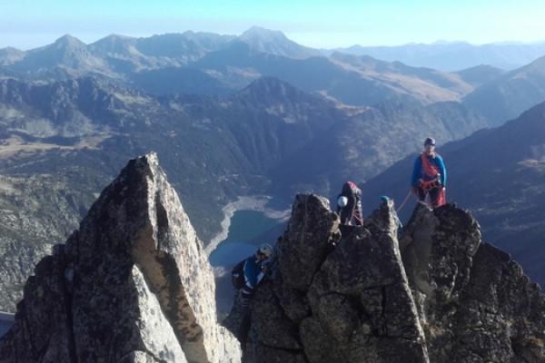 Week-end Grimpe et Alpi sur les arêtes du Néouvielle