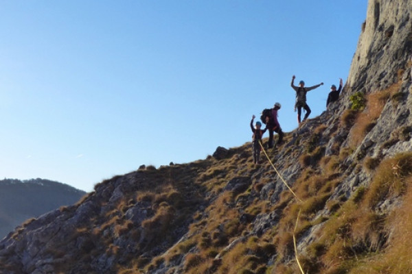 Ascension au Lhéris dans les hautes pyrénées