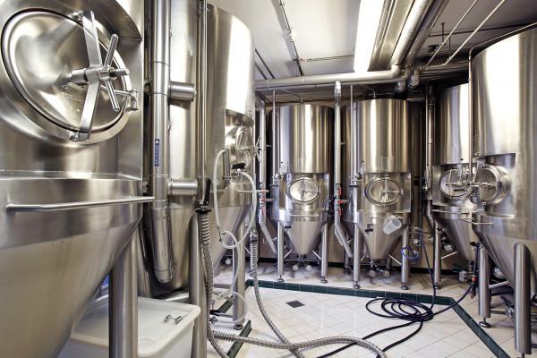 Fermentation tank Clausel brewery